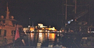 Bodrum Castle across the harbour