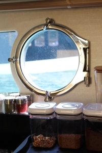 Life through the galley porthole